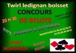 Concours de belote le 8 octobre 2016 à 20h30 à Lédignan